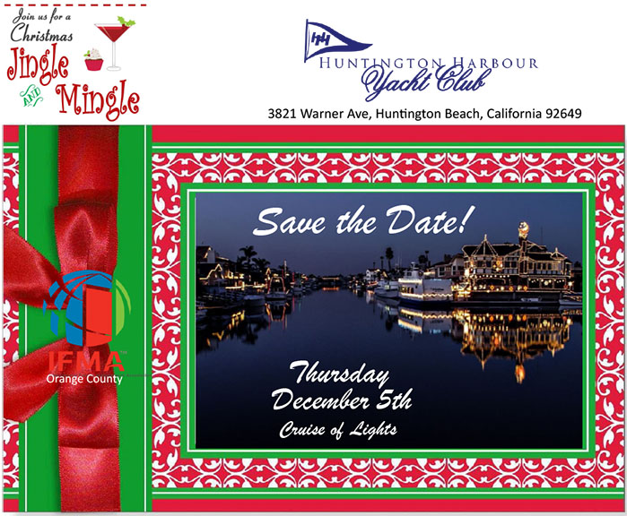 Jingle & Mingle:  IFMA OC 2019 Holiday Social @ Huntington Harbor Yacht Club | Huntington Beach | California | United States