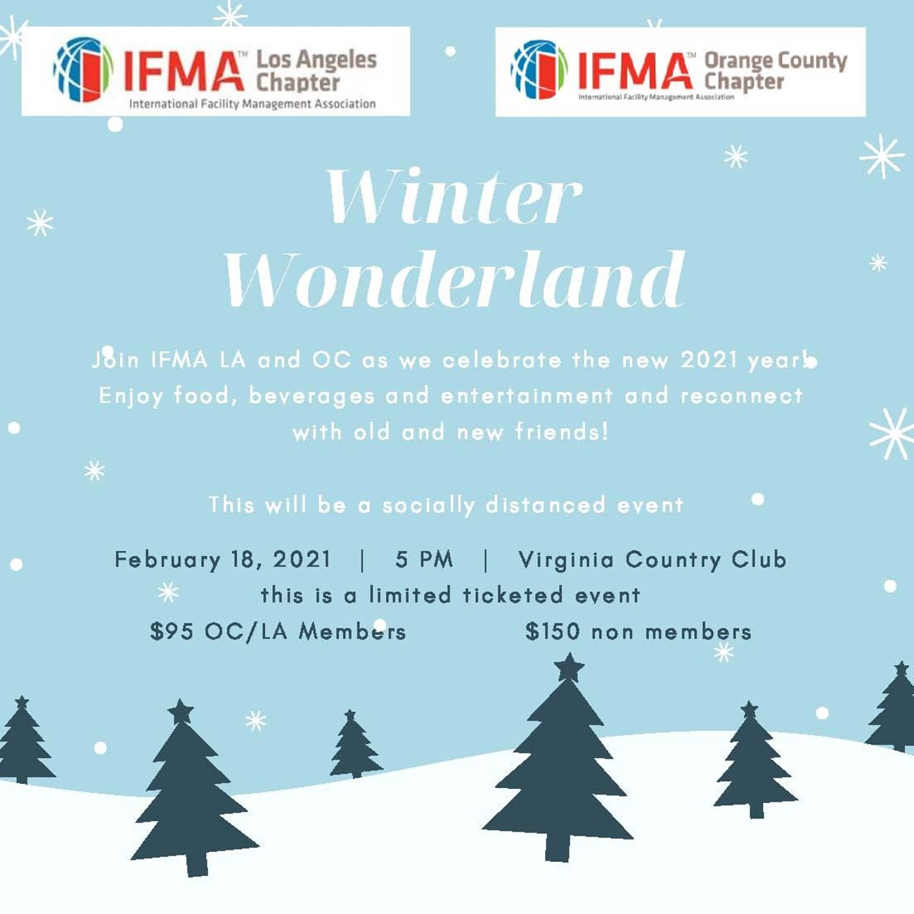 IFMA OC and IFMA LA Winter Wonderland in February! @ Virginia Country Club | Long Beach | California | United States